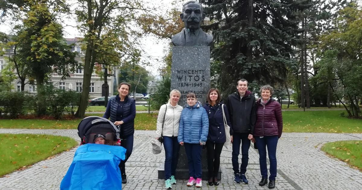 """Wycieczka uczniów NI do parku im. Wincentego Witosa w ramach innowacji pedagogicznej """"Zielona Bydgoszcz"""""""