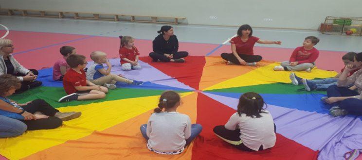 Trening Młodych Sportowców – grupy dzieci młodszych.
