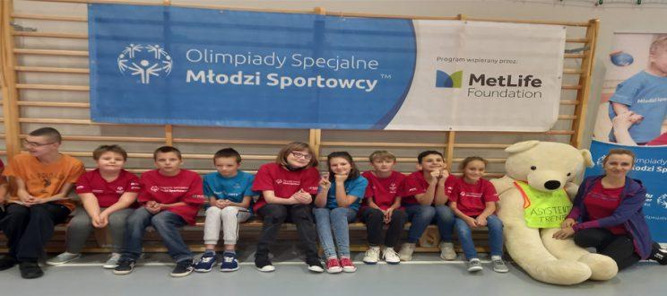 Październikowy trening Młodych Sportowców